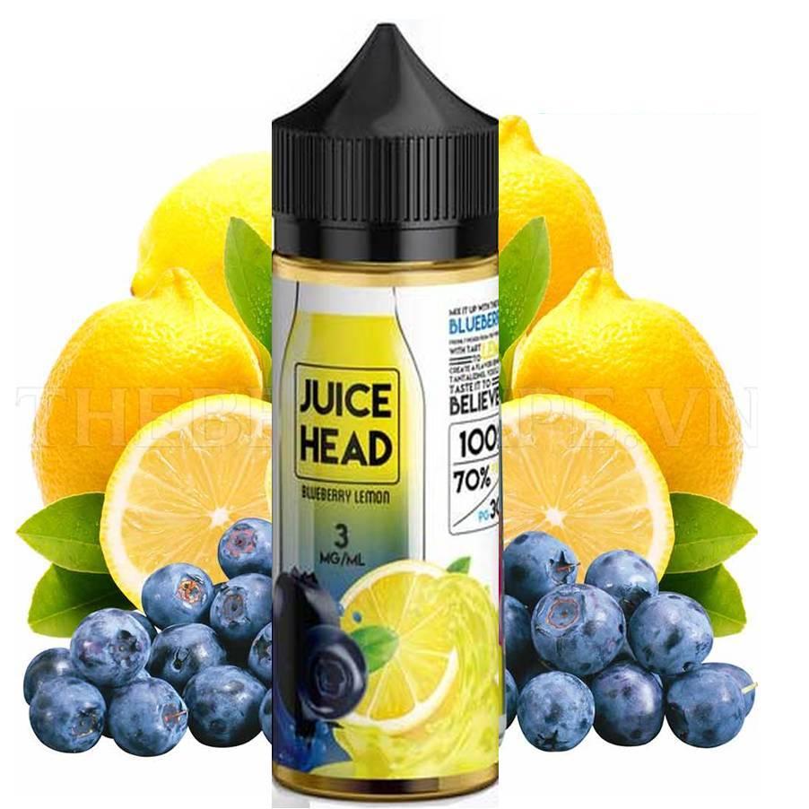 Juice Head Blueberry Lemon Ejuice Review